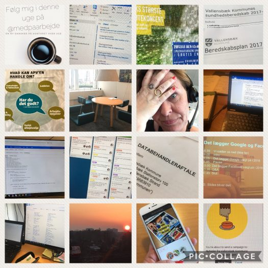 Billeder fra en uge på kommunikationskontoret i Vallensbæk Kommune